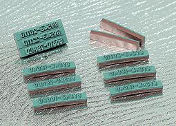 二層式ゴム印